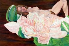 Maureen Connor With Water Lily