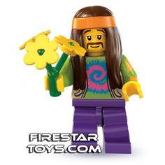 LEGO Minifigures - Hippie (firestartoys, 2013)