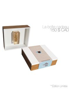 The splendid lacquer wooden box contains 2 pouches of 50g of Kopi Luwak coffee and contains the raw treasure of the civet, nicely exposed in a plexiglass.    - 100% wild Kopi Luwak  - Freshly roasted arabica Kopi Luwak  - Organic