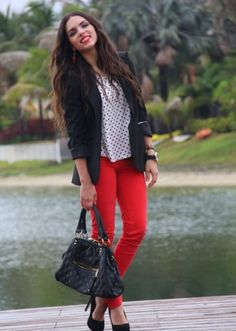 black blazers would look so much better on me if I had long hair :(