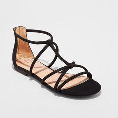 8c828e6c22a Women s Samina Tubular Gladiator Sandal - A New Day™ Black 6