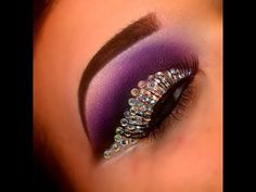 Check this makeup video out -- Rhinestone Cut Crease on MakeupBee