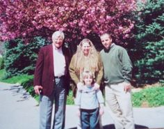 """""""This photo is special to me because my dad has since passed away. There are 3 generations in this photo, my father, me, my brother, and the handsome little man (who is now 17) is my son. There isnt a day that doesn't go by that I dont think about our dad, and how grateful I am that he molded us into what we have become. May 21, 2000."""" Submitted by Julia from North Carolina on 19 june, 2012"""