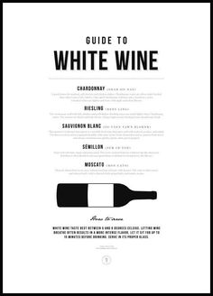 Guide to White Wine Poster - Posterstore.co.uk