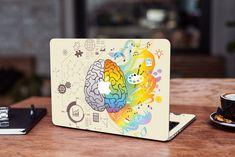 Brain Macbook Pro 13 Skin Macbook Pro 15 Decal Mac Pro 2017 Sticker Mac Retina Skin Colorful Macbook Air 13 Decal Macbook 12 Skin Mac 2018 by DesignerSkinUA on Etsy Macbook 15 Inch, Macbook Air 11, Macbook Pro Retina, How To Make Stickers, Cool Stickers, Macbook Skin, Mac Pro, Plastic Case