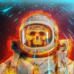 Optical Illusion Gif, Optical Illusions, Skull Island, Skull Wallpaper, Dead Space, Interstellar, Space Travel, Space Exploration, Horror Art