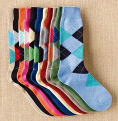 Meias coloridas p/ quem sabe usar são perfeitas!!!