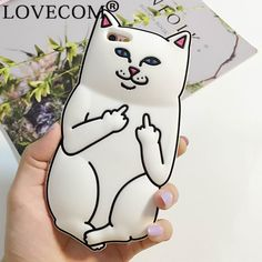 New Hot Pocket White Cat Soft Silicon Phone Back Cover Phone Case For iPhone 4 4S 5 5S SE 6 6S 6Plus 6SPlus(China (Mainland))