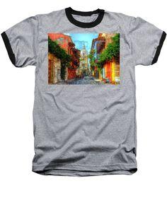 Baseball T-Shirt - Heroic City, Cartagena De Indias Colombia