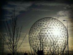 'Rise' sculpture, Belfast, Northern Ireland