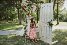 Outdoor Romanian Wedding by Cristian Ana Photography Beautiful Bridesmaid Dresses, Bridal Dresses, Romanian Wedding, Perfect Wedding, Dream Wedding, Vintage Doors, Bridal Flowers, Ceremony Decorations, Centerpieces