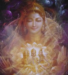 The power or active aspect of God Almighty is the Adi Shakti. Brahman is unchanging consciousness.