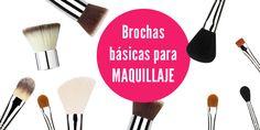 Te mostramos las 8 brochas básicas para maquillaje de rutina diaria y te decimos para que sirve cada una y como sacarle mayor provecho!