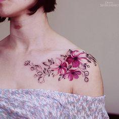Resultado de imagen para rosas en la clavicula tatto