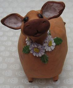 <3 'How now brown cow' Brown Guernsey Cow, brown cow by KarenFincannon.