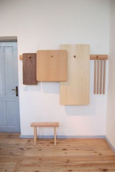 Wooden Peg Furniture // StudioGorm