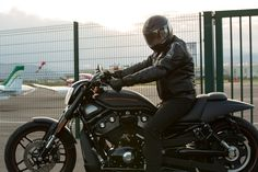 Harley Davidson Night Rod Special - customized backrest