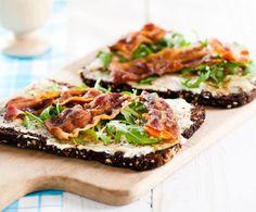 Recept: Roggebrood met spek | Gezond Eten Magazine