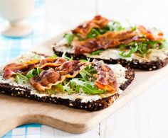 Recept: Roggebrood met spek - Gezond eten
