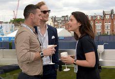 Photos of Luke Evans With Celebrity Friends | POPSUGAR Celebrity UK Luke Evans, Jack Fox, and Jessie Ware