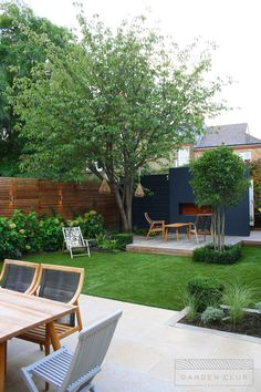 Perennial Flower Gardening - 5 Methods For A Great Backyard Clapham Modern Sanctuary - Garden Club London