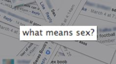 what means sex? [nsfw]