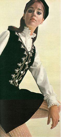 1960s fashion, I had something like this back when.