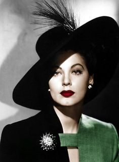 Ava Gardner, Recolored Black and White by ~Owleye90 on deviantART