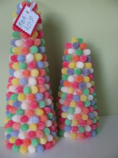 etsy candy gumdrop theme centerpiece | Check them out on this Etsy Treasury of Christmas Candy!