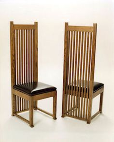tall chair mackintosh inspired - Google Search