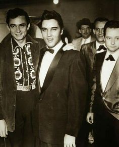 ELVIS and JOHNNY CASH