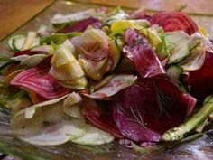 Shaved Vegetable Salad from CookingChannelTV.com