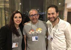 Patricia Huertas, José A. Fraga Moreiro y Jacinto Molero.