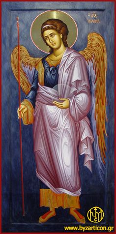 __ Μιχαήλ _ nov 8 ( Prayers to Holy Archangel Michael save a soldier in the Korean War Religious Images, Religious Icons, Religious Art, Byzantine Icons, Byzantine Art, Angels Among Us, Angels And Demons, Gabriel, Greek Icons