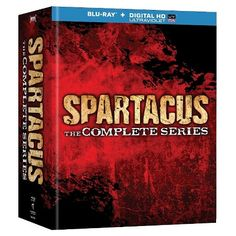 Spartacus: The Complete Collection [13 Discs] [Blu-ray] : Target