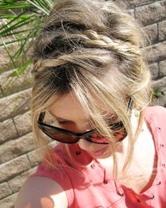 hair styles with braids tutorials | Messy Rope Braids - Hair Tutorial - Hairstyles and Haircare 101 ...
