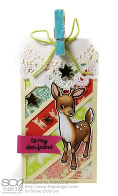 Deer-Tag-Perfect-Paper-Crafting-Kristy-Dalman-Some-Odd-Girl-stamps