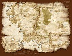 Apesar de o cenário da Terra Média ser geralmente considerado outro mundo, é na realidade um período imaginário do passado da nossa própriaTerra. Tolkien insistiu que a Terra Média é a nossa Terra em várias dassuas cartas, sendo que na carta 211 ele estima que aTerceira Erateria terminado 600 mil anos antes do nosso próprio tempo.