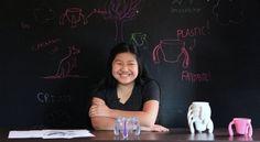 A onze ans, elle invente une tasse pour les personnes souffrant de la maladie de Parkinson - Innovation - Les clés de demain - Le Monde.fr /...