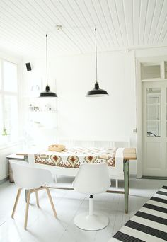 Scandinavian Inspired Dining Rooms on the Interior Collective