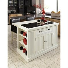 Special Offers - Home Styles 5022-94 Nantucket Kitchen Island Distressed White Finish - In stock & Free Shipping. You can save more money! Check It (May 04 2016 at 04:13AM) >> http://storagecabinetusa.net/home-styles-5022-94-nantucket-kitchen-island-distressed-white-finish/