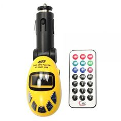 F, Car MP3 Player Short Card Remote Control Yellow FM Transmitter Beetle Car Mp3: Bid: 10,29€ (£9.05) Buynow Price 10,29€ (£9.05) Remaining…