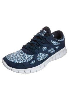 NIKE FREE RUN+ 2 LIBERTY - Sneakers - blå