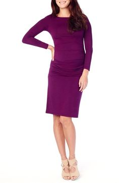 Ingrid & Isabel® Shirred Maternity Dress available at #Nordstrom