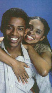 All My Children: Darnell Williams & Debbi Morgan / Jesse & Angie Hubbard
