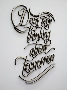 fleetwood mac: oh, how I'd love to be the proud owner of this typography..