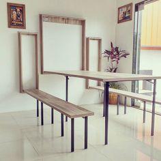 Multifunctional Furniture, Smart Furniture, Space Saving Furniture, Furniture Design, Small Apartment Interior, Home Interior, Interior Decorating, Interior Design, Office Cabin Design