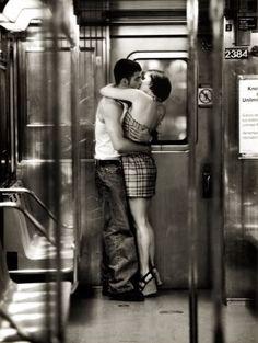Subway Kiss - amberlilynm