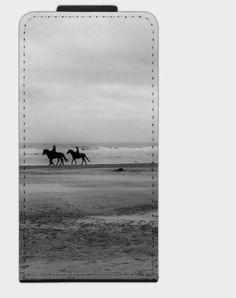 """Flip-Case """"Ausritt"""" von Zierrat auf DaWanda.com"""