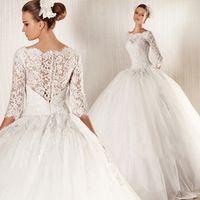 Romantic Vestido De Noiva 2015 Vintage Wedding Dress Mariage Casamento Robe De Mariage Fashionable Boda Zuhair Murad Ball Gown